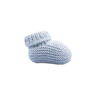 Botinhas tricot bebé