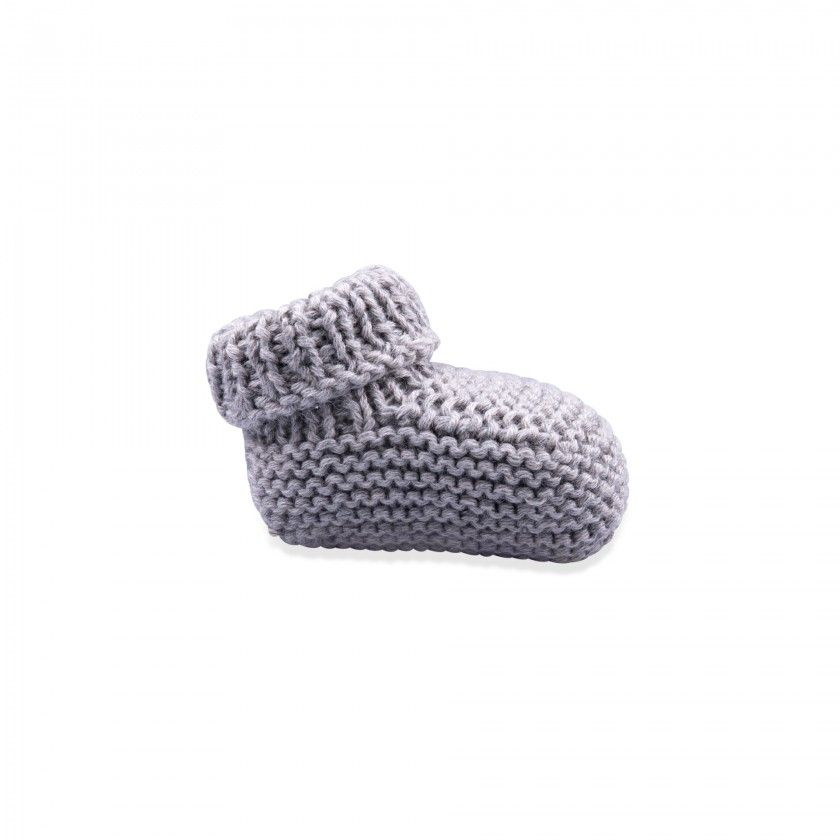 Baby knitted botties
