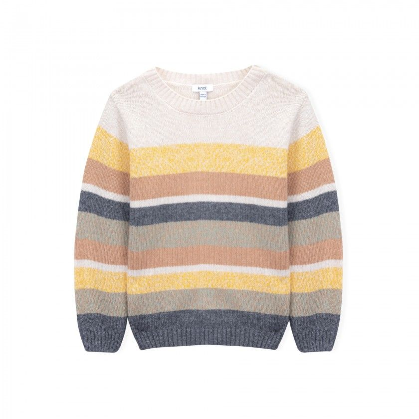 Sutherland boys knitted sweater