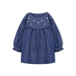 Jane baby denim dress