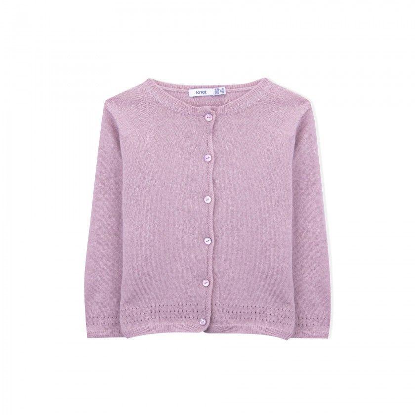 Nevada girls knitted jacket