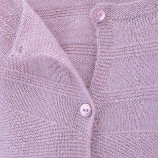 Casaco bebé tricot antoinette