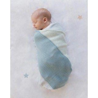 Manta bebé tricot echo