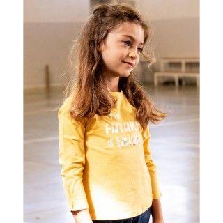 T-shirt menina manga comprida trinity
