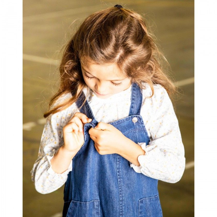 Lylah girls pinafore dress