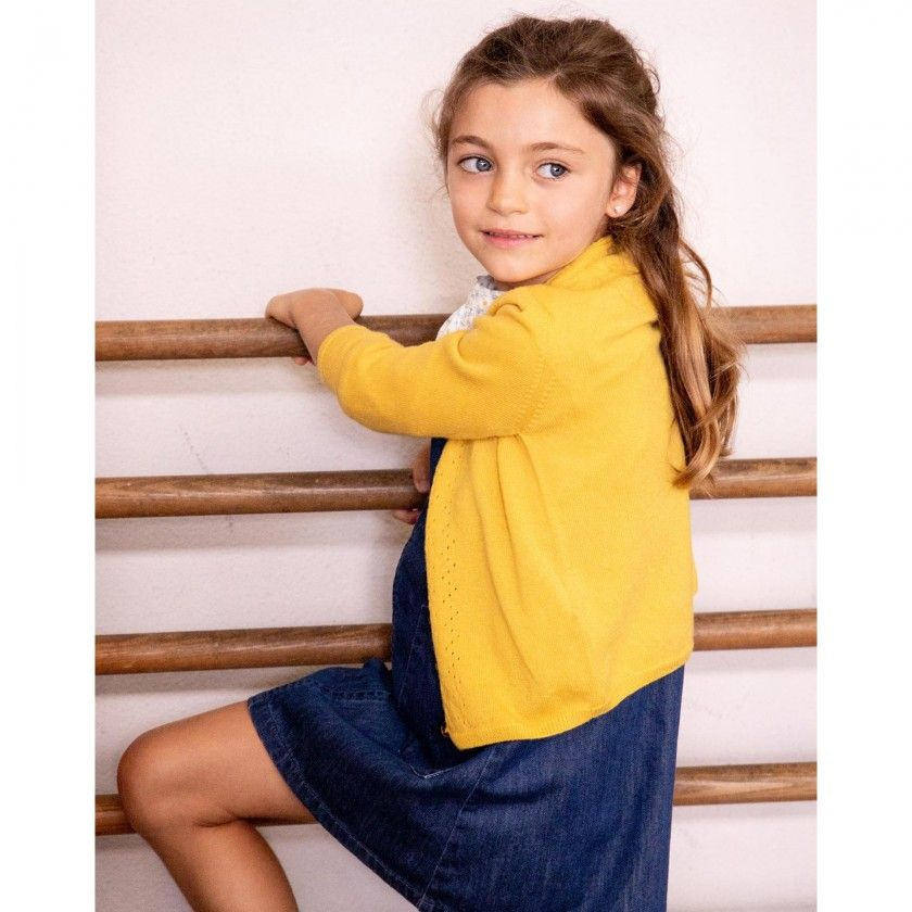 Casaco menina tricot Bonnie