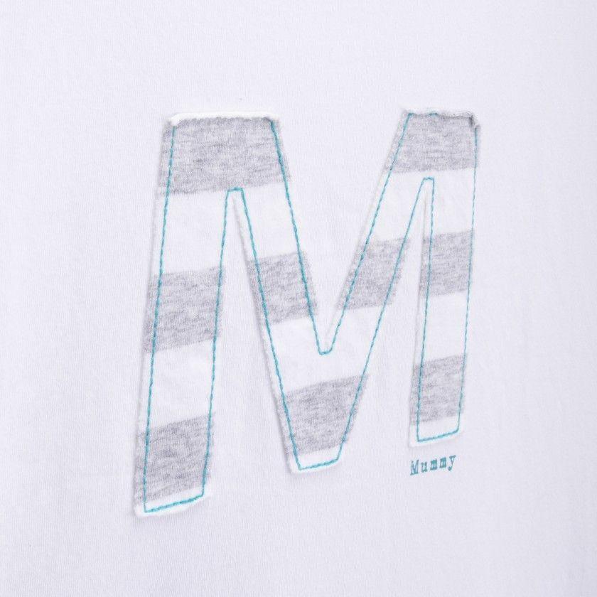Pijama alfabeto M