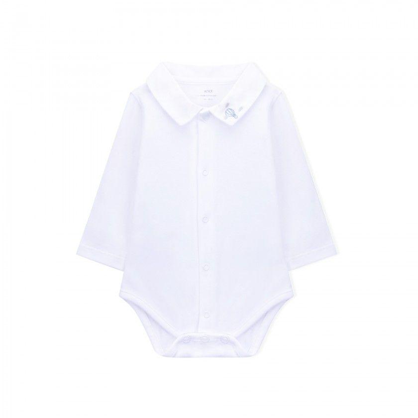 Body bebé manga comprida frank