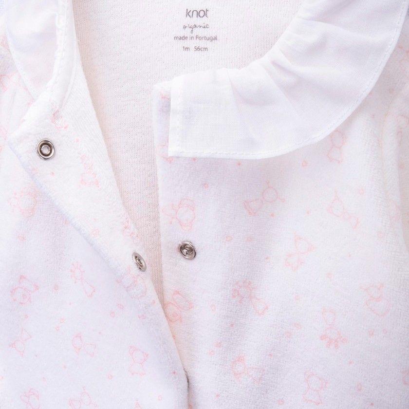Babygrow algodão orgânico samantha