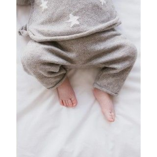 Calças bebé malha