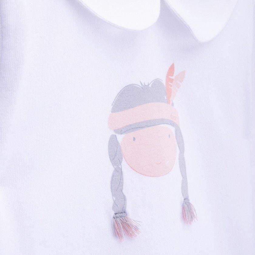 Body t-shirt bebé pocahontas