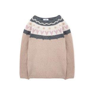 Lorena girls knitted sweater