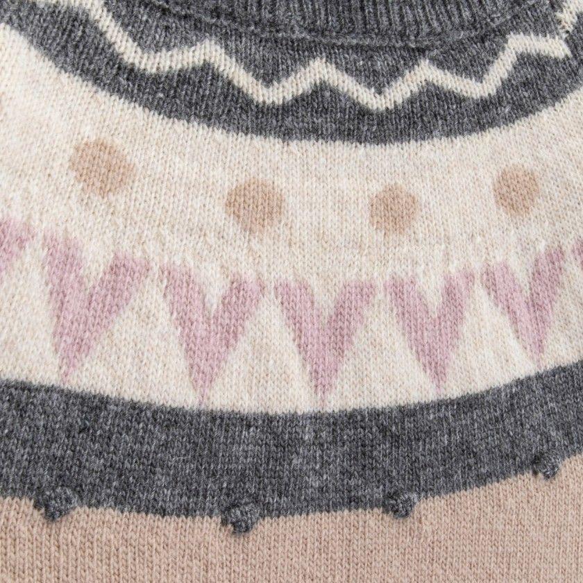 Camisola menina lã Lorena