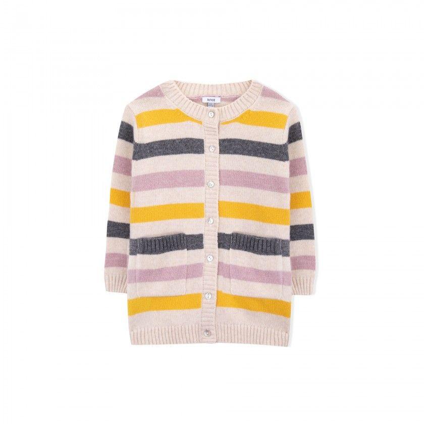 Blossom girls knitted jacket