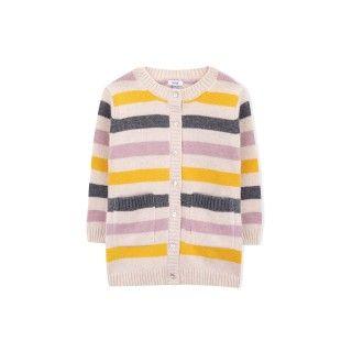 Casaco menina tricot blossom