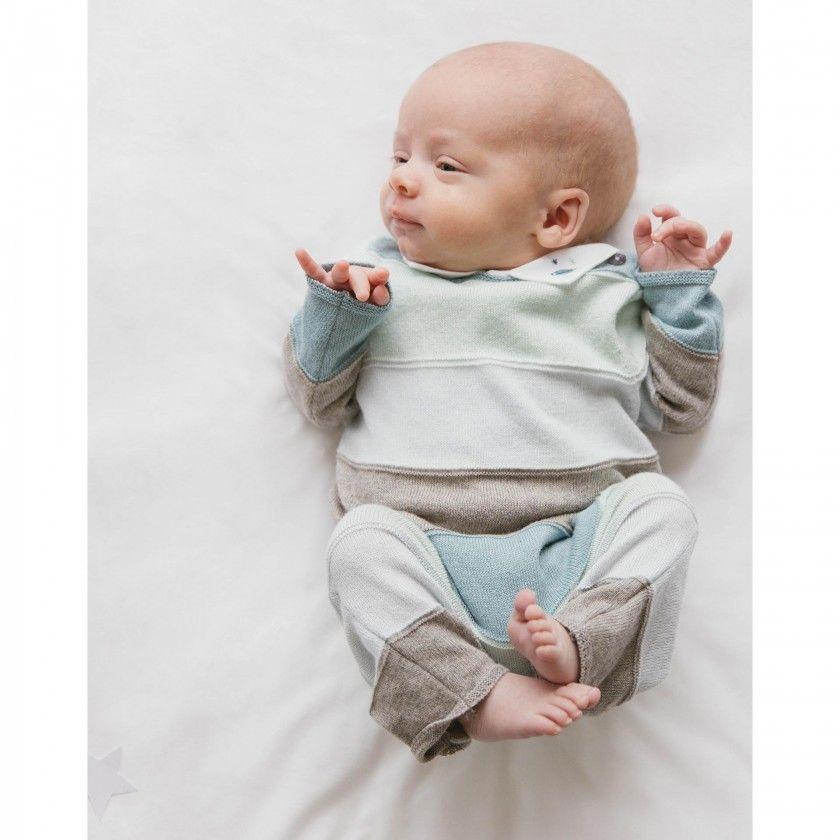 Macacão bebé tricot echo
