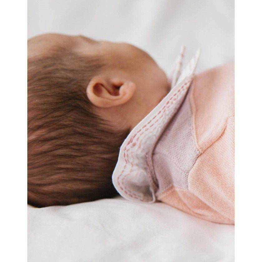 Frou-frou long sleeve baby body