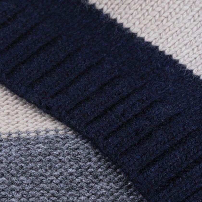 Amanda knitted scarf