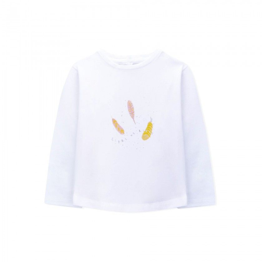 Willow long sleeve baby t-shirt