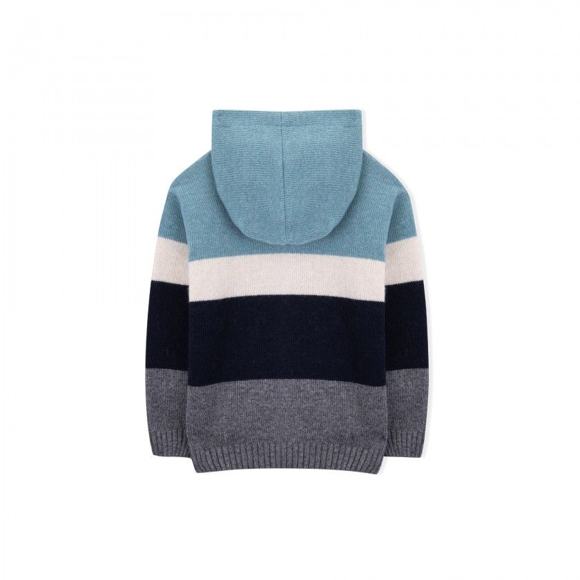 Casaco menino tricot lazarus