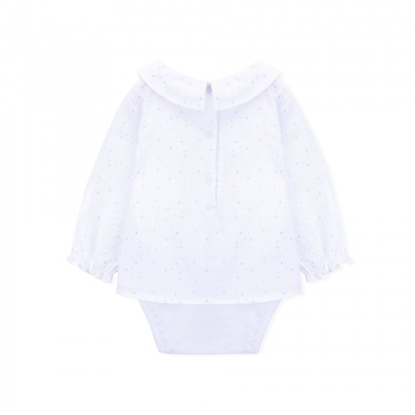 Leia long sleeve baby body blouse