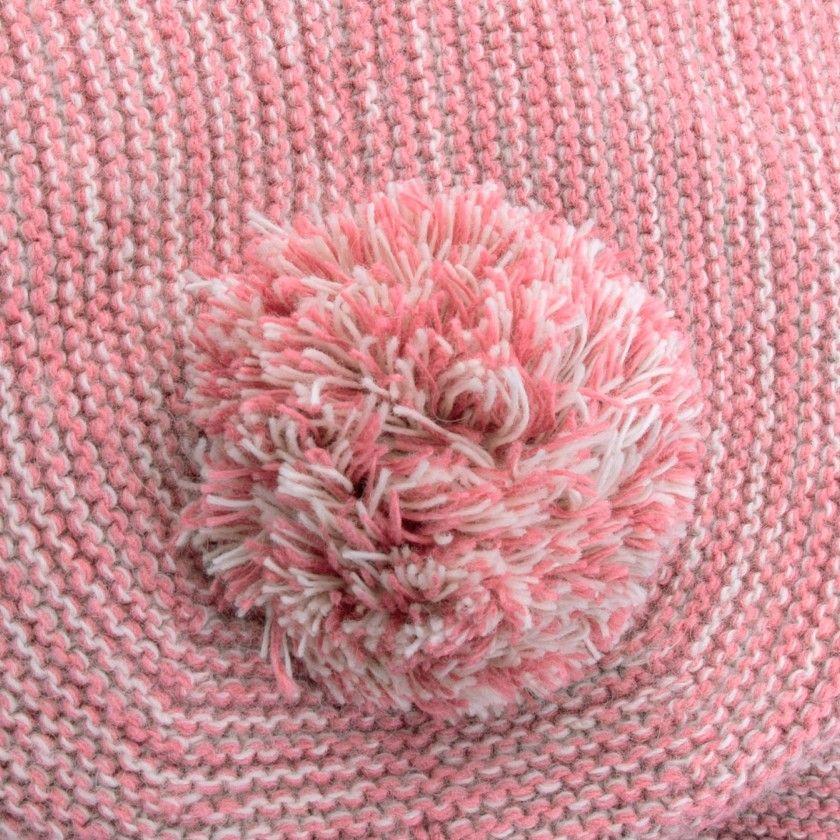 Casaco bebé tricot capuz willa