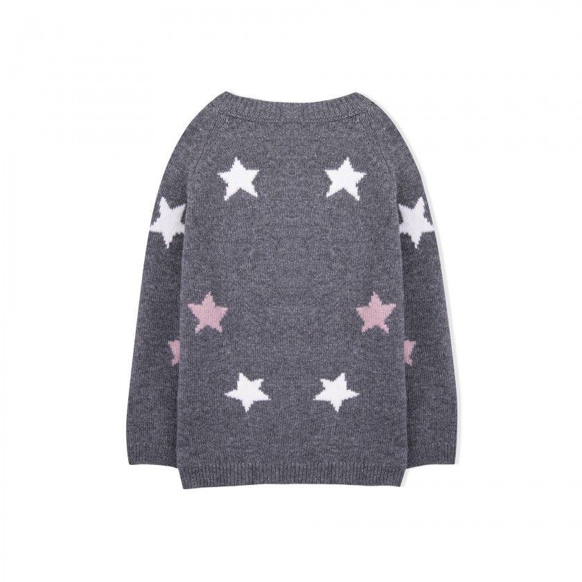 Ursula girls knitted sweater