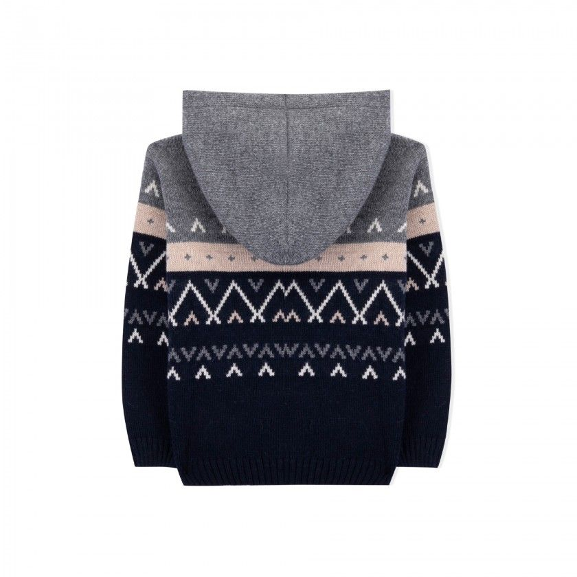 Jeremy boys knitted sweater