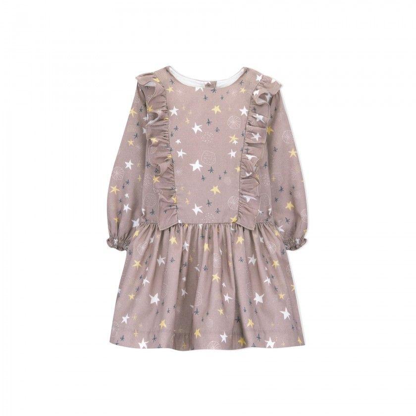 vestido menina distant star