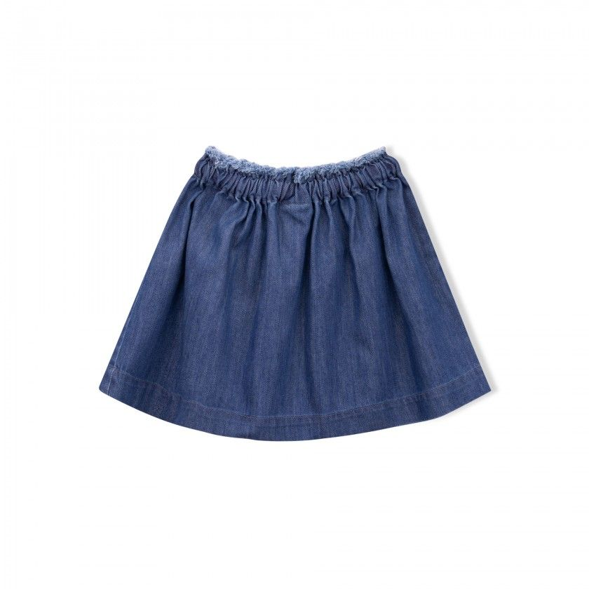 Myra girls denim skirt