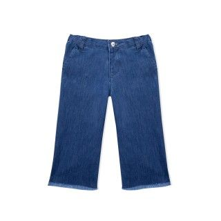 Clarence girls denim trousers