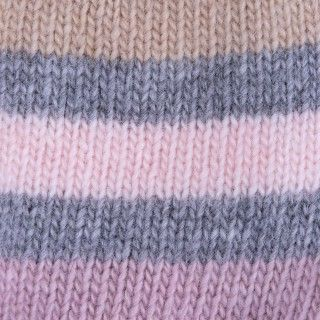wild west stripe baby Knitted beanie