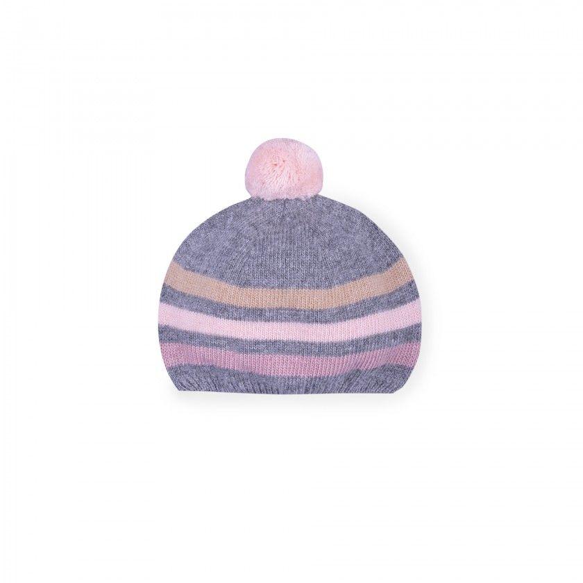 wild west stripe baby Knitted beanie