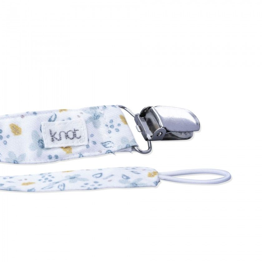 wild Flowers baby pacifier strap