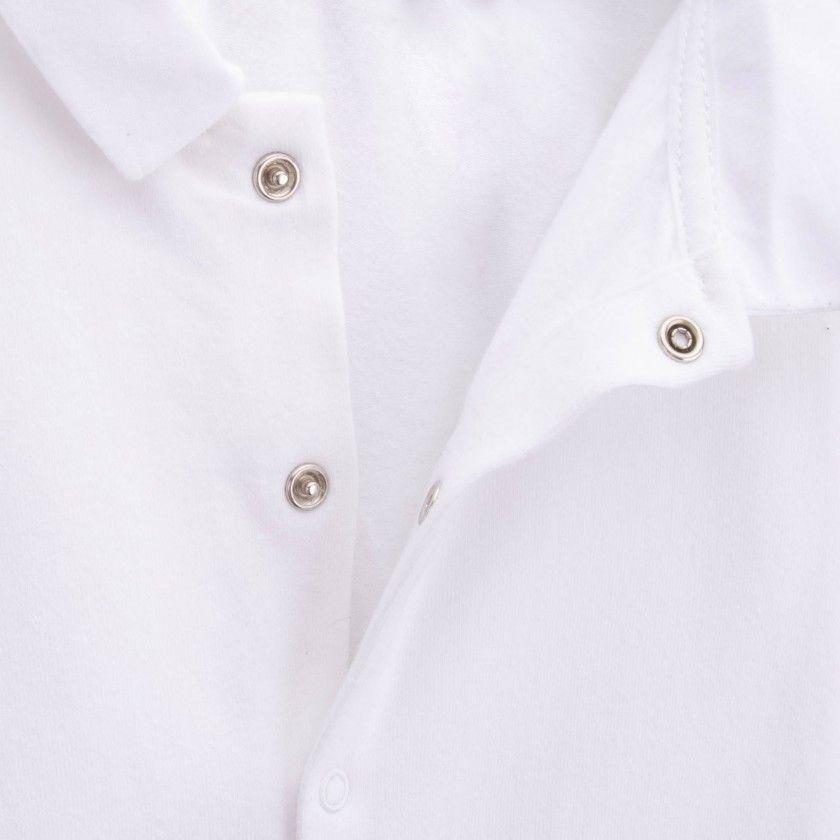 Long sleeve classic collar body