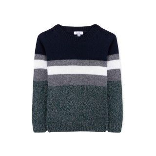 Jedi stripes boys knitted sweater