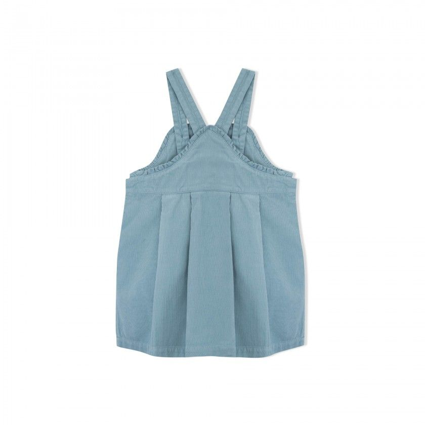 Quinn girls pinafore dress