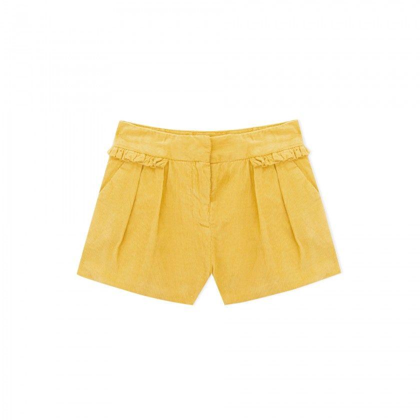 Wilda girls corduroy  shorts