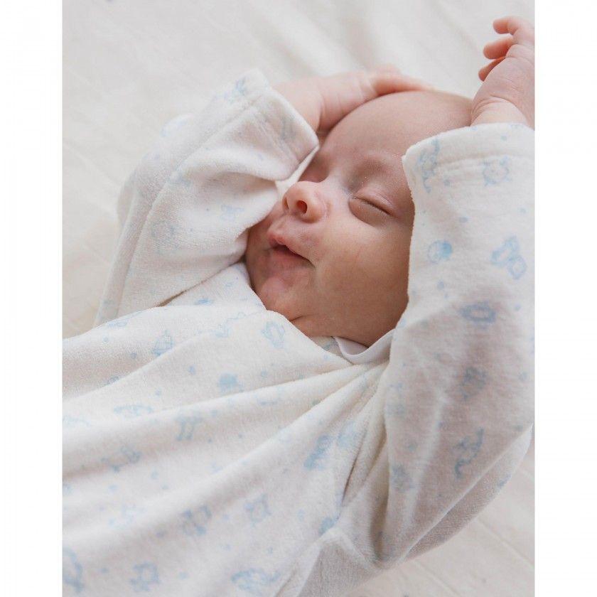Babygrow veludo r2d2