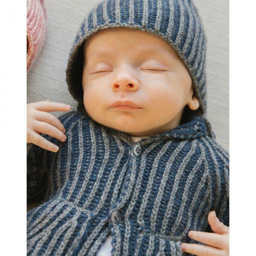 Casaco bebé tricot Houston