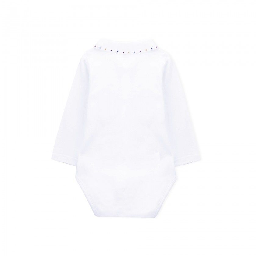 Elsa long sleeve baby body