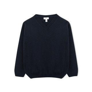 Clarke boys knitted v-neck sweater