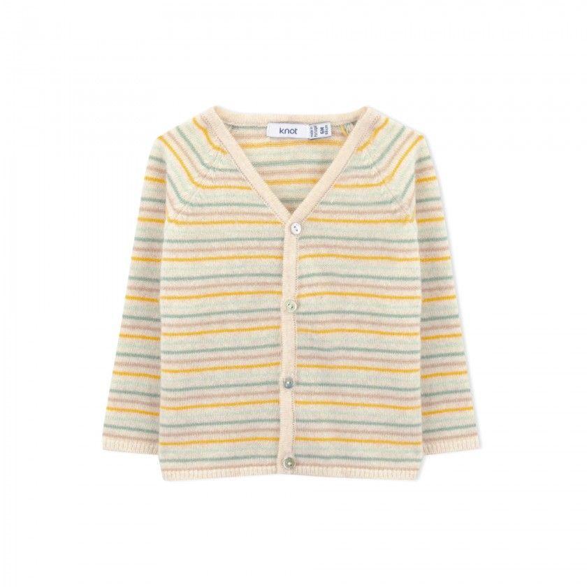 Casaco bebé tricot Benjamin