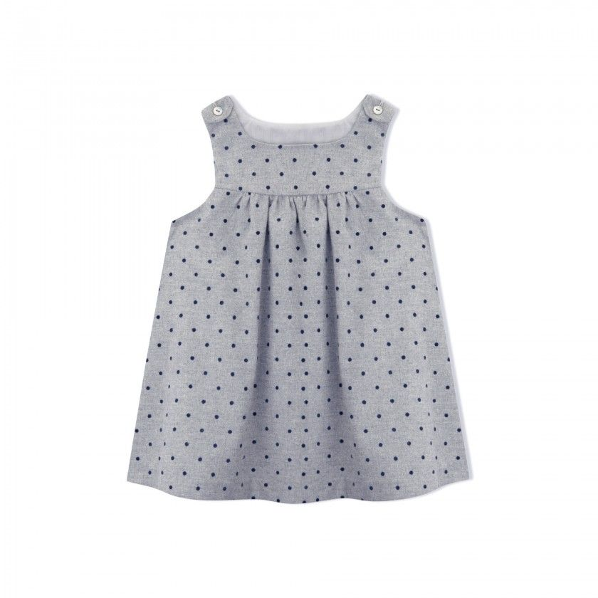 Loretta baby pinafore dress