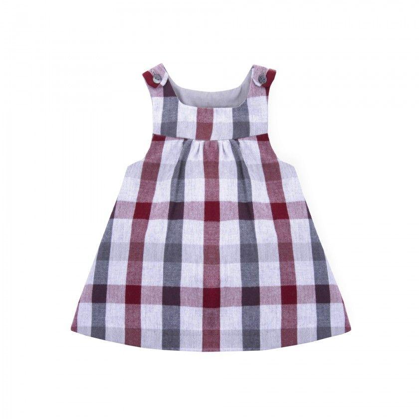 Loretta baby pinafore dress