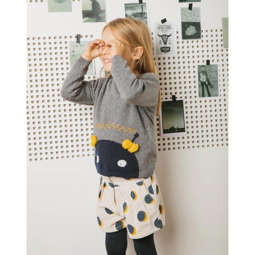 Camisola menina tricot ava
