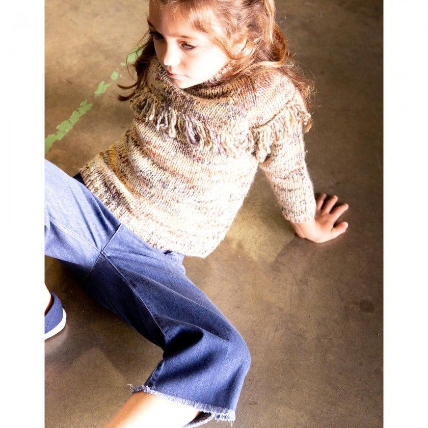 Camisola menina tricot broomhilda