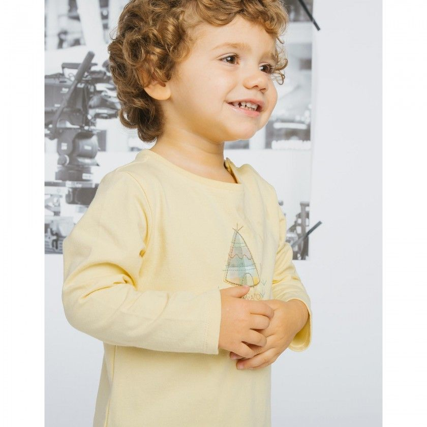 Powhatan long sleeve baby t-shirt