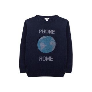 Camisola tricot phone home