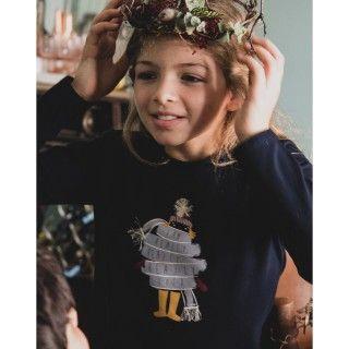 T-shirt menina manga comprida jadis
